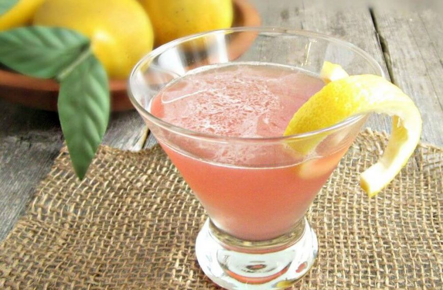 Holiday Pear Cosmo Recipe