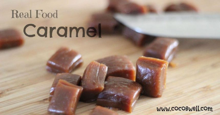 Real Food Caramel Chews