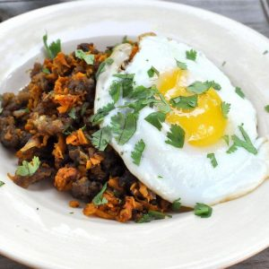 Sweet Potato Hash-Browns