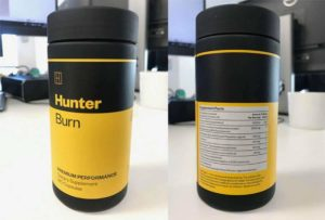hunter burn label