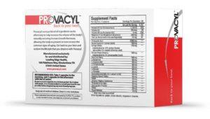 provacyl label